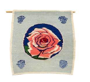 "Tadeusz Dominik (1928 - 2014), ""Rose"", 1975, wool,"
