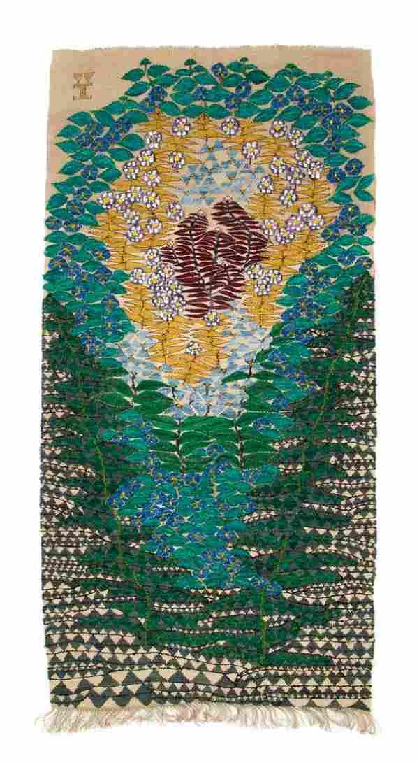 """Wanda Holoszkiewicz (1927 - 2004), """"Flower"""","""
