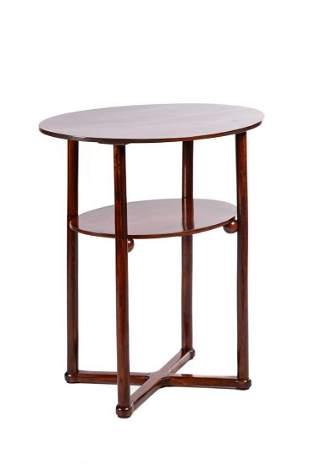 Josef Hoffmann Thonet Table, beginning of the 20th