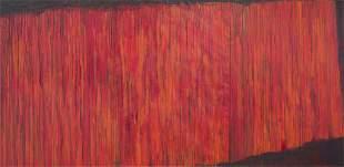Leon Tarasewicz (b. 1957) Untitled - triptych, 1988
