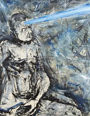 "Ryszard Wozniak (b. 1956) ""Struck by the ray"" from the"