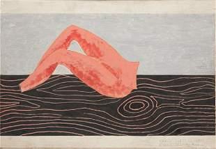 """Marek Sobczyk (b. 1955) """"Jesus' trousers"""", 1988"""