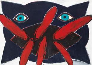 """Ryszard Grzyb (b. 1956) """"Pillow"""", 1985"""