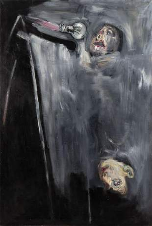 "Grzegorz Bednarski (b. 1954) ""Ni mas ni menos. no. 20"""