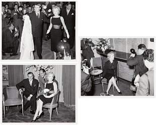 Milton H. Greene (1922 - 1985) Set of 3 photos with