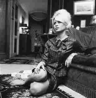 Andre Sas (b. 1928) Brigitte Bardot, 1962