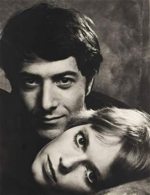 Philippe Halsman (1906 - 1979) Dustin Hoffman and Mia