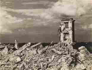 Jan Bulhak (1876 - 1950) Ruins of the Royal Castle in