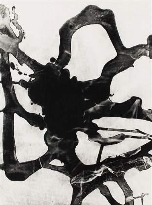 "Bronislaw Schlabs (1920 - 2009) ""Photogram"", 1957"