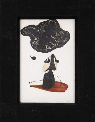 Marek Piasecki (1935 - 2011) Untitled, 2 pol lat 50.