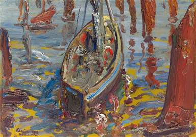 Leon Kaufmann (Kamir) (1872 - 1933), Boats in