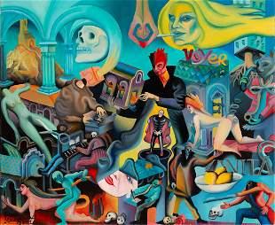 Piotr Urbanek (b. 1976) Macabreakdance , 2021