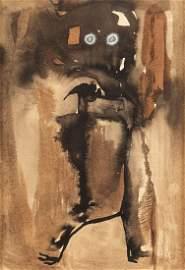 """Magdalena Abakanowicz (1930 - 2017) """"Fox"""", 60s"""