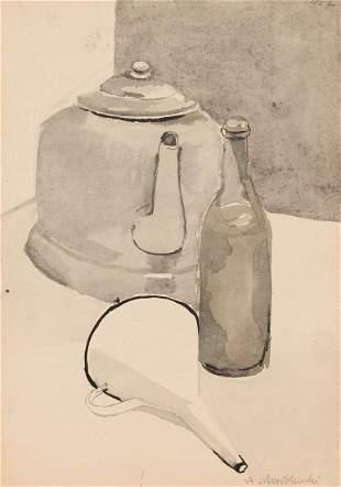Andrzej Wroblewski (1927 - 1957) [Still life no 407]