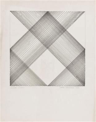 """Wanda Golkowska (1925 - 2013) """"Drawing 1/3/85"""", 1985"""