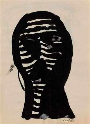 Roman Opalka (1931 - 2011) Head
