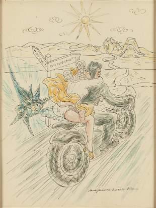"Maja Berezowska (1898 - 1978) The road to ""Virtue"" and"