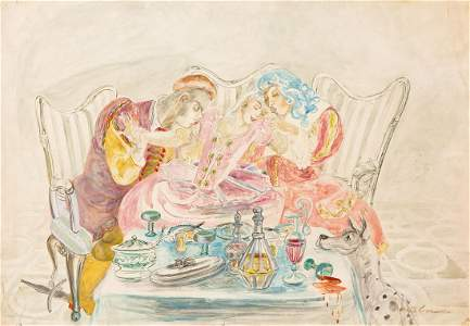 Maja Berezowska (1898 - 1978) Tea