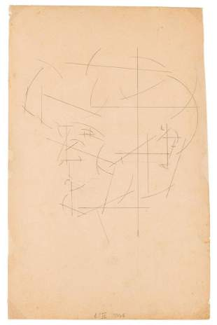 "Samuel Szczekacz (1917 - 1983) ""Composition"", 1936"