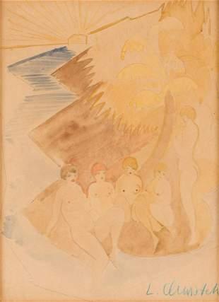 Leon Kazimierz Antoni Chwistek (1884 - 1944) Women on