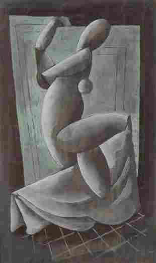 Béla Kádár (1877 - 1956) Figural study
