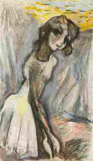Henryk Gotlib (1890 - 1966) Female nude