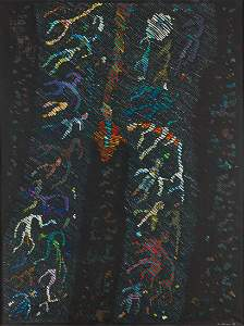 Jan Dobkowski (b. 1942) 'Carnival Night', 1986