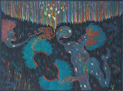Jan Dobkowski (b. 1942) 'Anticipation', 1989