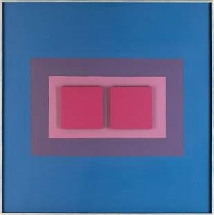 """Henryk Stazewski (1894 - 1988) """"Relief No. 19"""", 1972"""