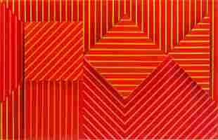 """Henryk Stazewski (1894 - 1988) """"Relief No. 13"""", 1969"""