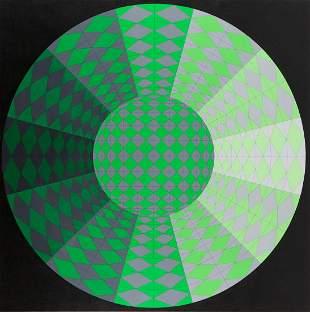 "Victor Vasarely (1906 - 1997) ""Lynx"", 1979"