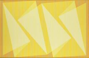 Julian Stanczak (1928 - 2017) 'Folding with Light',
