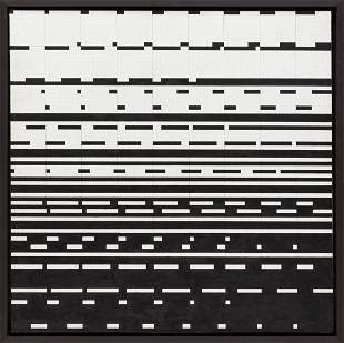 "Ryszard Winiarski (1936 - 2006) ""Game 9 x 9"", 1979"