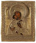 Icon - Vladimirskaya Mother of God