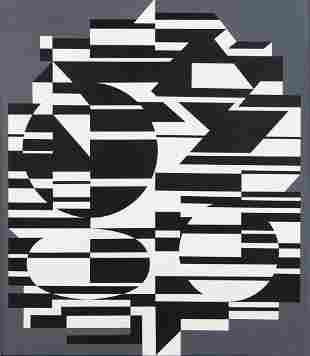 "Victor Vasarely (1906 - 1997) ""Kobe II"", 1953-1972"
