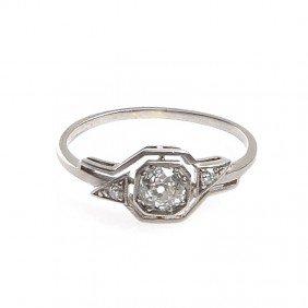 Art D�co Ring ,  30-ties-40-ties XX Century