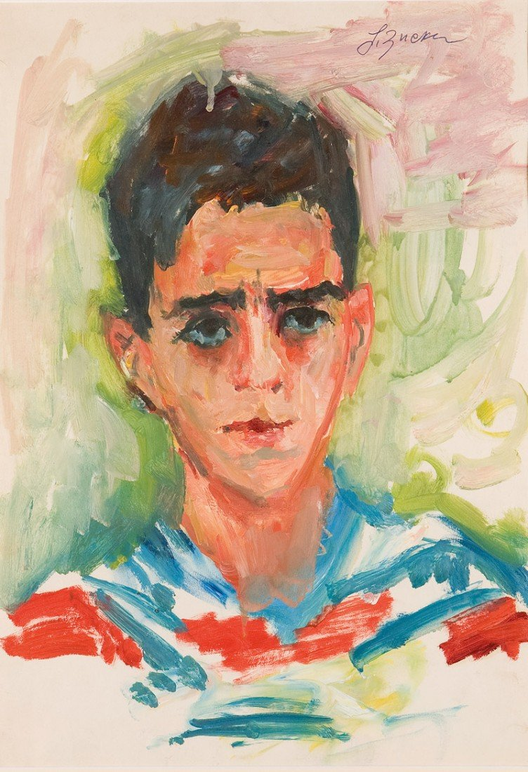 2: Jakub Zucker (1900 Radom - 1981 Nowy Jork) , Portret