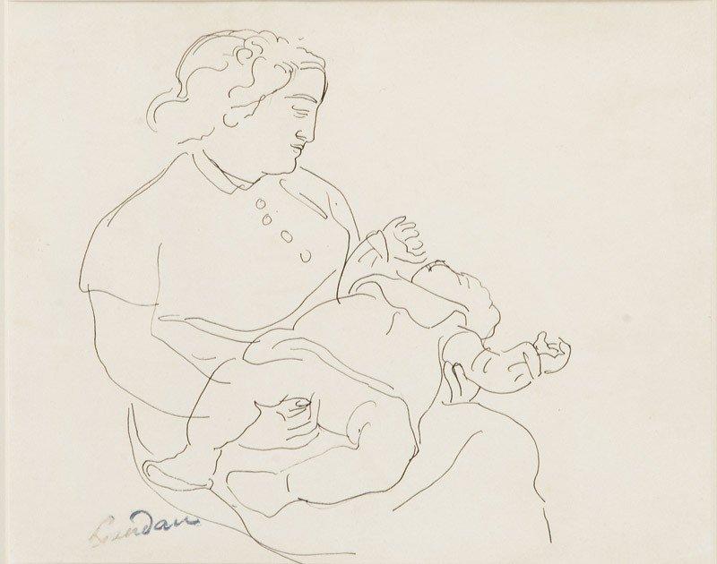 6: Zygmunt Landau (1898 Lódz - 1962 Paryz), Macierzynsw