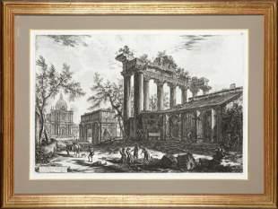 38: Giovanni Battista Piranesi (1720 Mogliano Veneto -