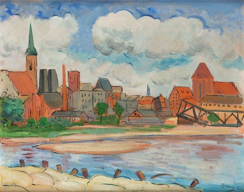 8: Tymon Niesiołowski (1882 Lwów - 1965 Toru&