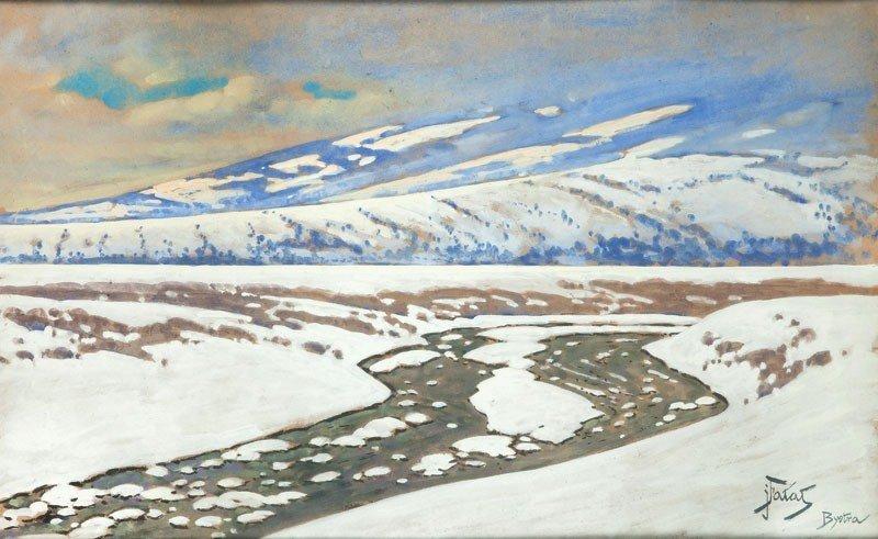 11: Julian Fałat (1853 Tuligłowy - 1929 Bystr