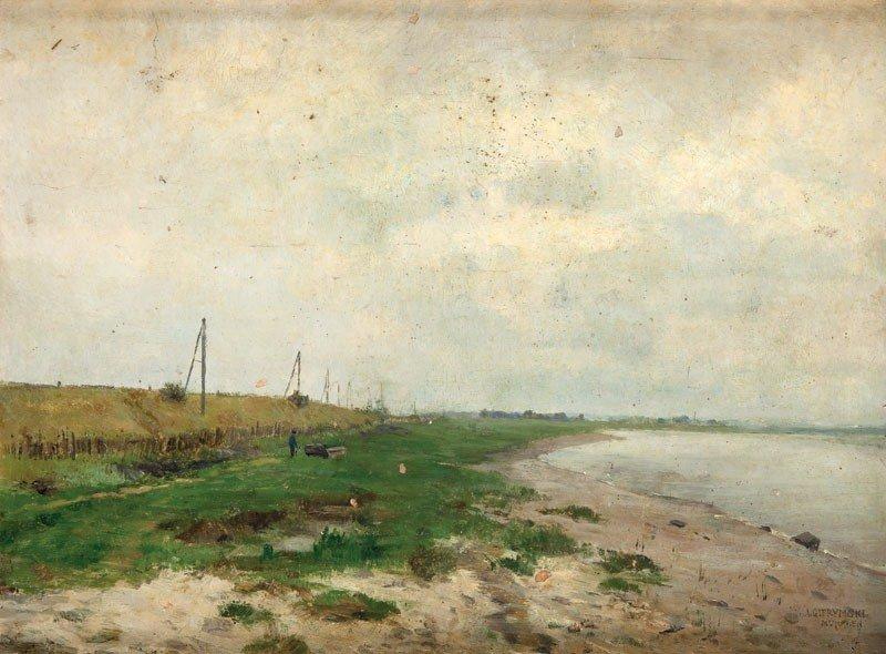 20: Aleksander Gierymski (1850 Warszawa - 1901 Rzym)