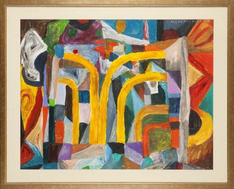 11:  Stanislaw Mlodozeniec (1953 , Warszawa) Kompozycja