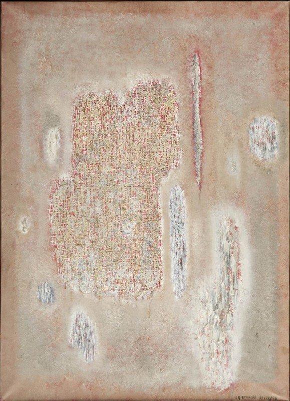 50:  Stefan Gierowski (1925 , Czestochowa) Obraz XXXIX,
