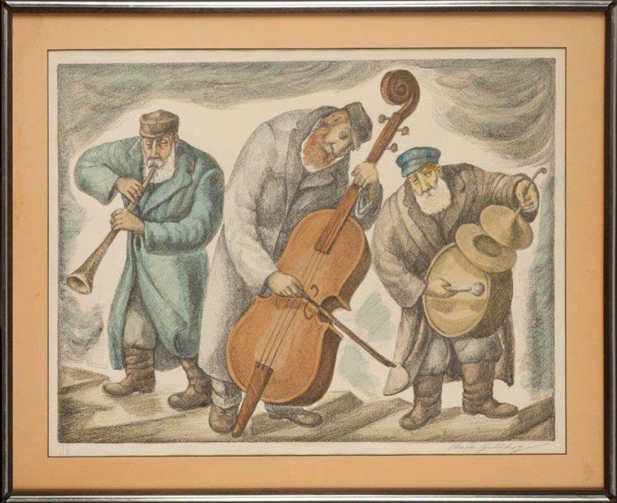 1: Chaim Goldberg (1917 Kazimierz Dolny - 2004 Boca Rat