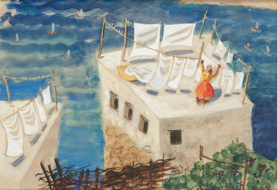 5: Teresa Roszkowska (1904 Kijow - 1992 Warszawa) Capri