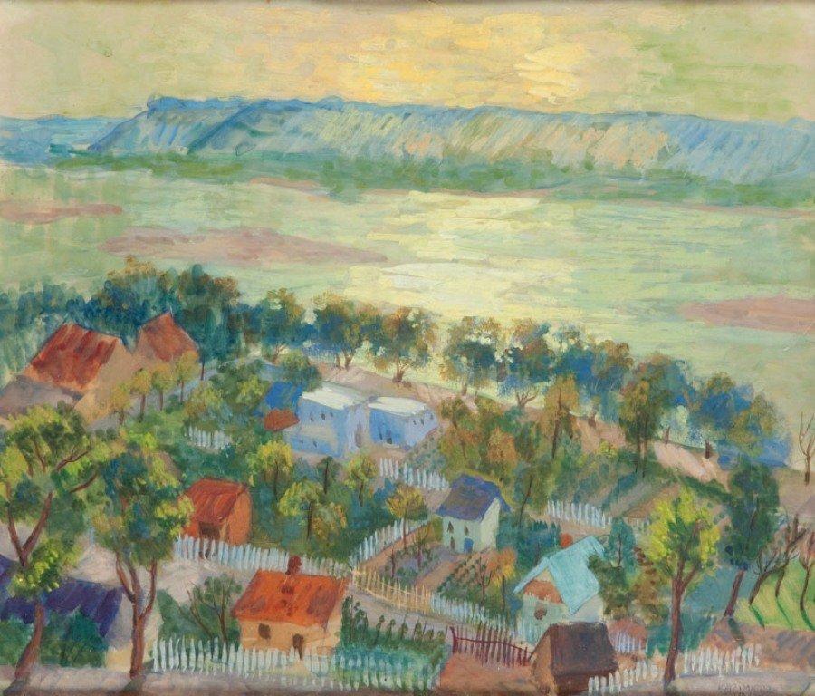 6: Teresa Roszkowska (1904 Kijow - 1992 Warszawa) Widok