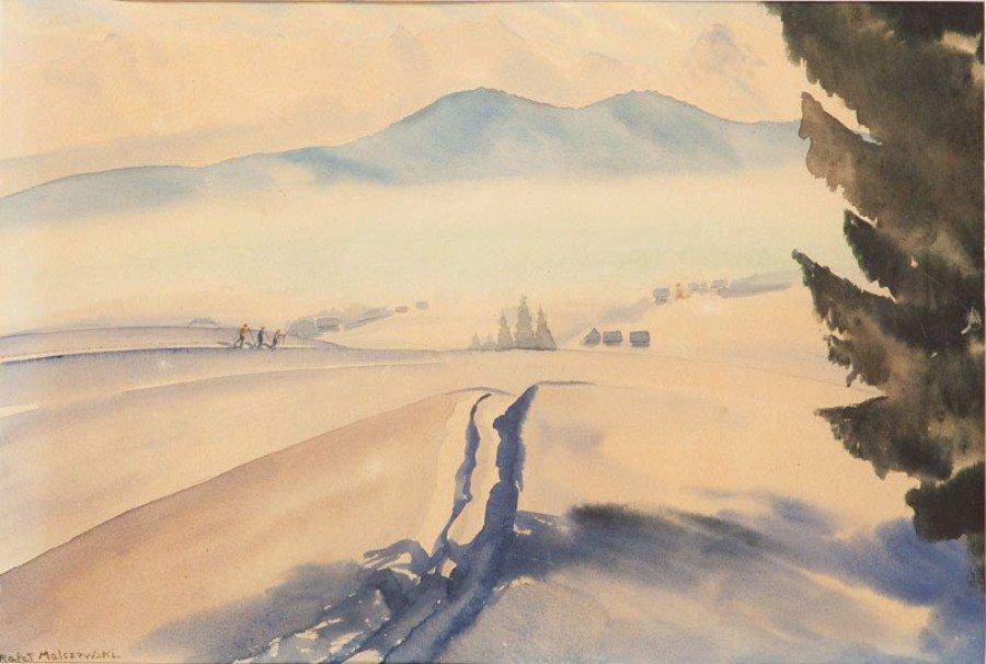 10: Rafal Malczewski (1892 Krakow - 1965 Montreal) Zimo