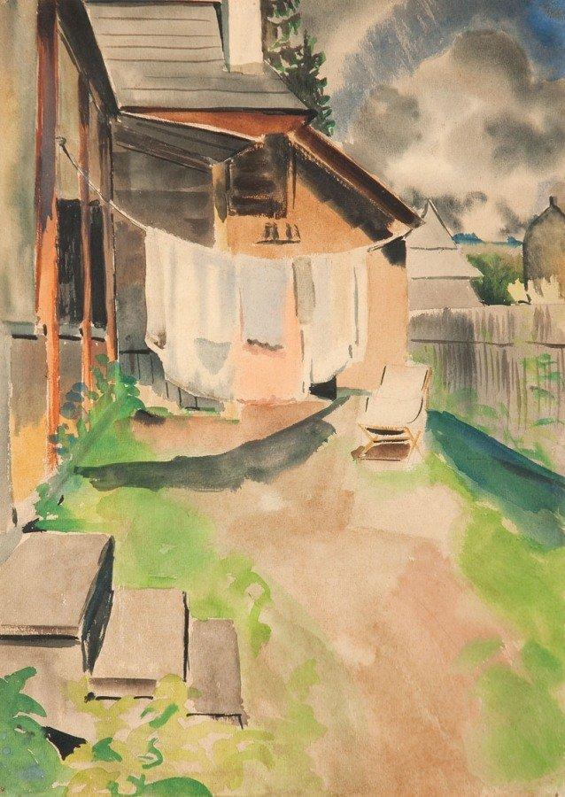 11: Rafal Malczewski (1892 Krakow - 1965 Montreal) Podw