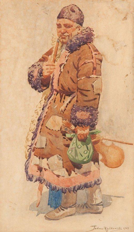 22: Tadeusz Rybkowski (1848 Kielce - 1926 Lwow) Mezczyz